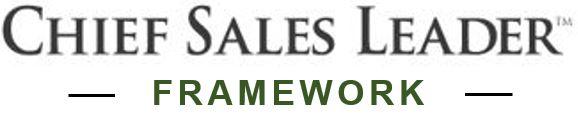Chief Sales Leader Framework™